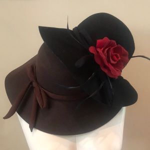 Accessories - Bundle Wool Felt Wide Brim Sun Hats